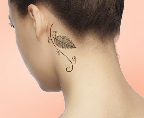 Leaf Tattoo Design Ideas 21
