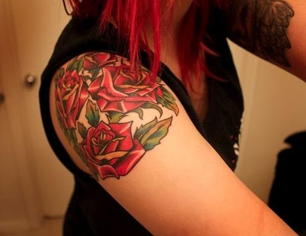 Leaf Tattoo Design Ideas 29