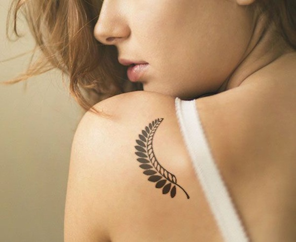 Leaf Tattoo Design Ideas 37