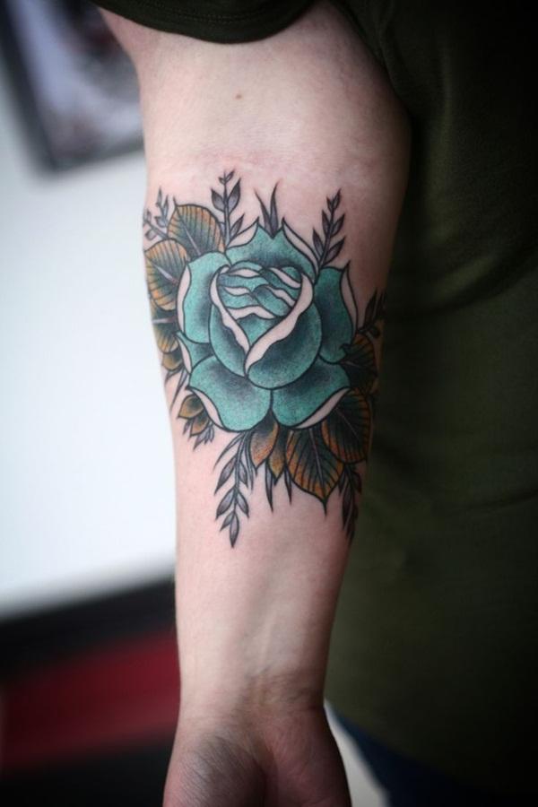 Leaf Tattoo Design Ideas 38