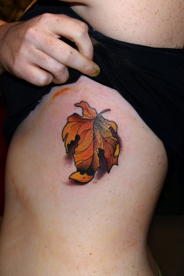 Leaf Tattoo Design Ideas