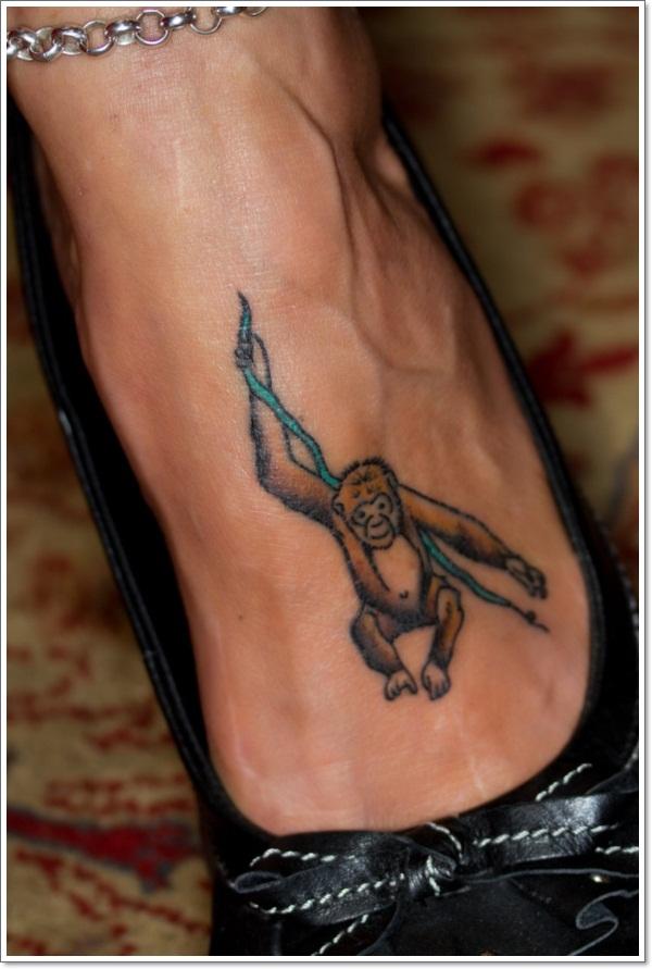 Monkey Tattoo Designs 10