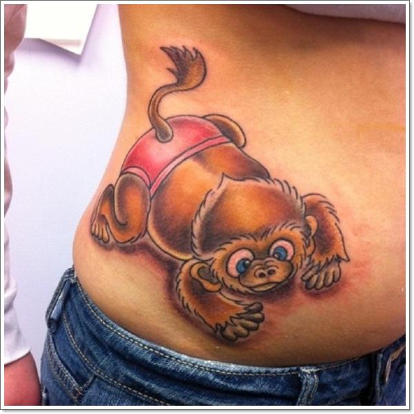 Monkey Tattoo Designs 14