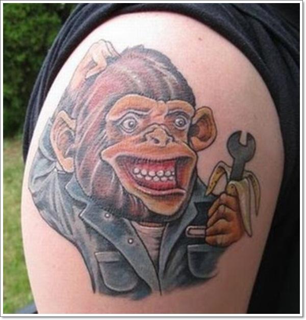 Monkey Tattoo Designs 16