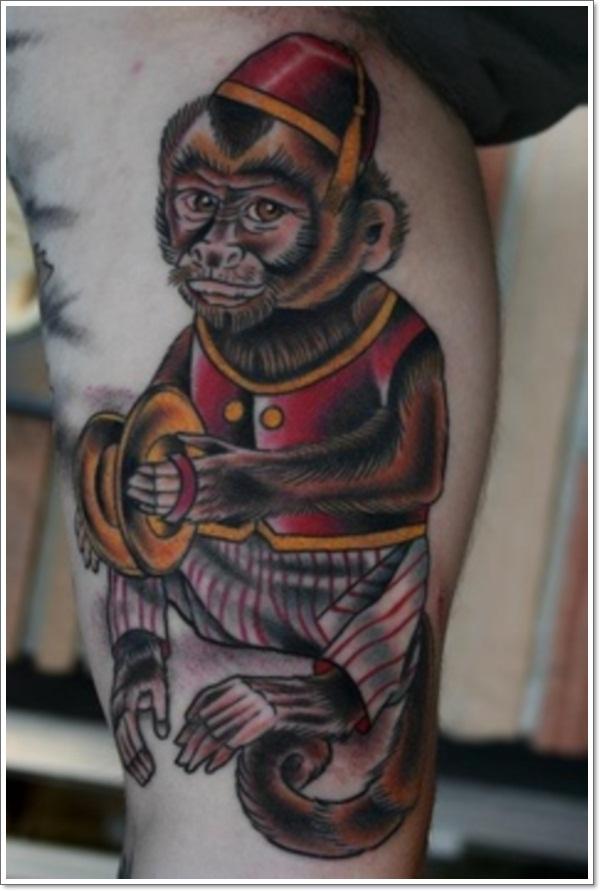 Monkey Tattoo Designs 18