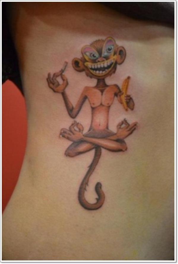 Monkey Tattoo Designs 19