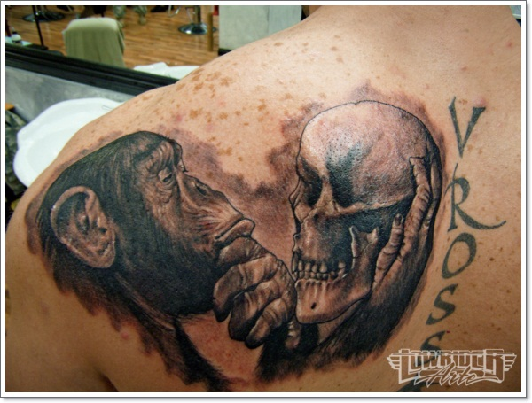 Monkey Tattoo Designs 20