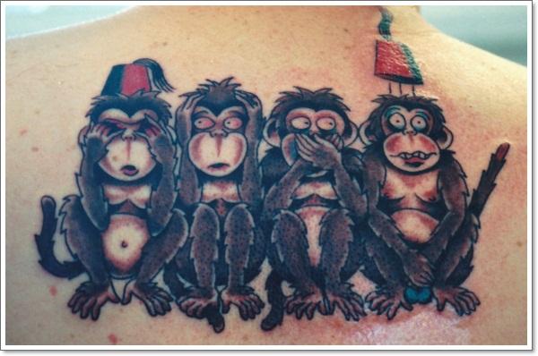 Monkey Tattoo Designs 22
