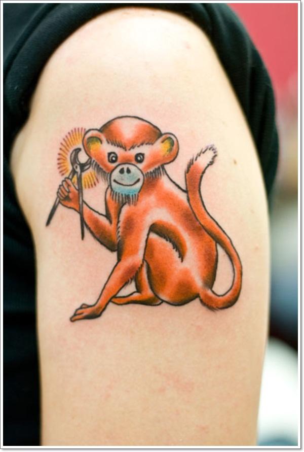 Monkey Tattoo Designs 23