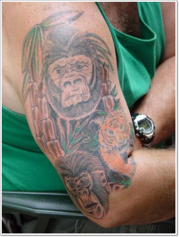 Monkey Tattoo Designs 26