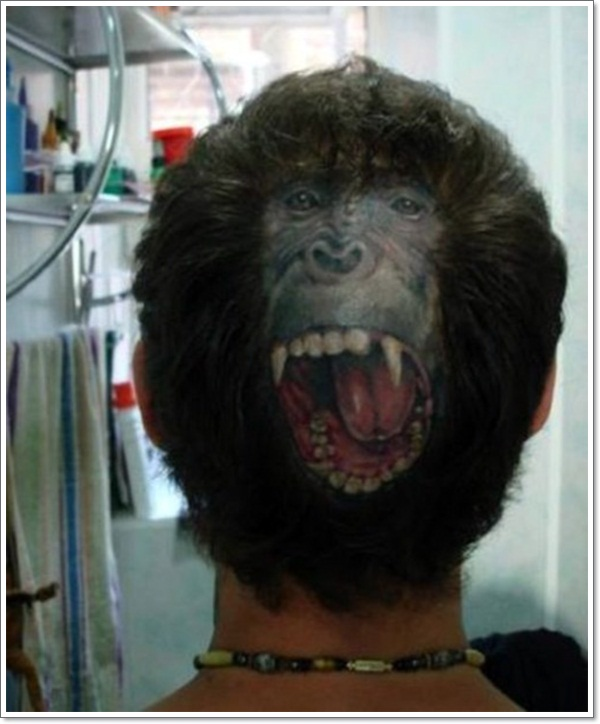 Monkey Tattoo Designs 28