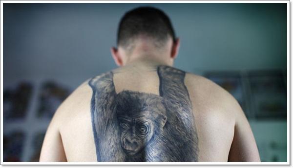 Monkey Tattoo Designs 3