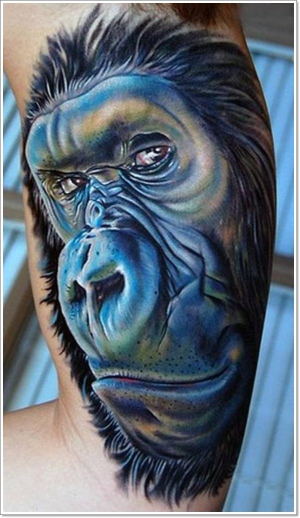 Monkey Tattoo Designs 30