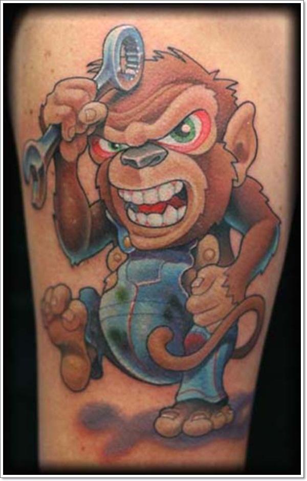 Monkey Tattoo Designs 31
