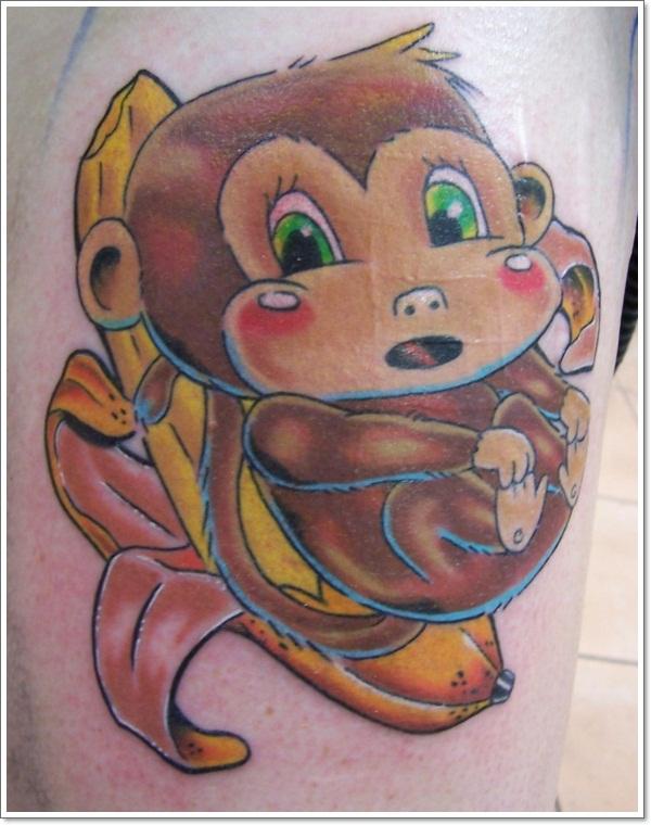 Monkey Tattoo Designs 32