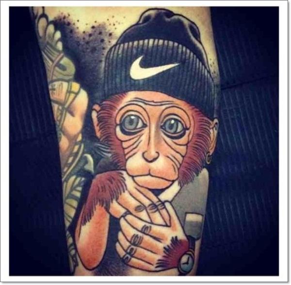 Monkey Tattoo Designs 4