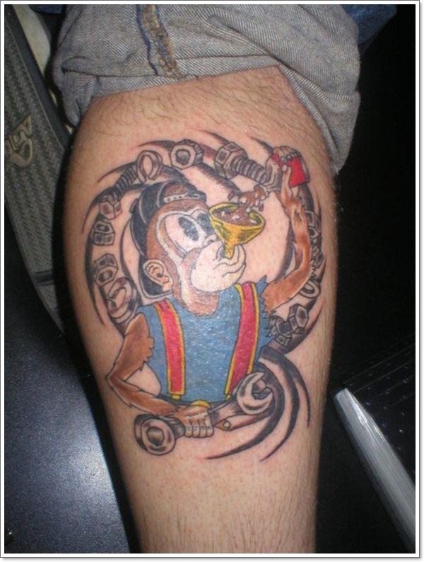 Monkey Tattoo Designs
