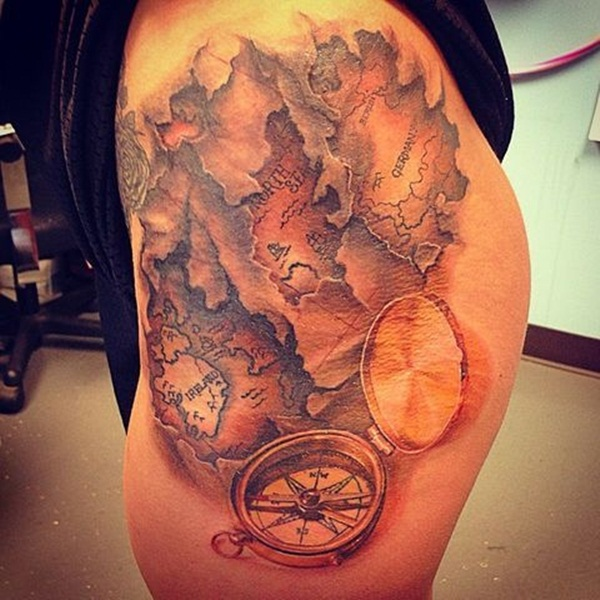 Ripped Skin Tattoo Design and Ideas 16