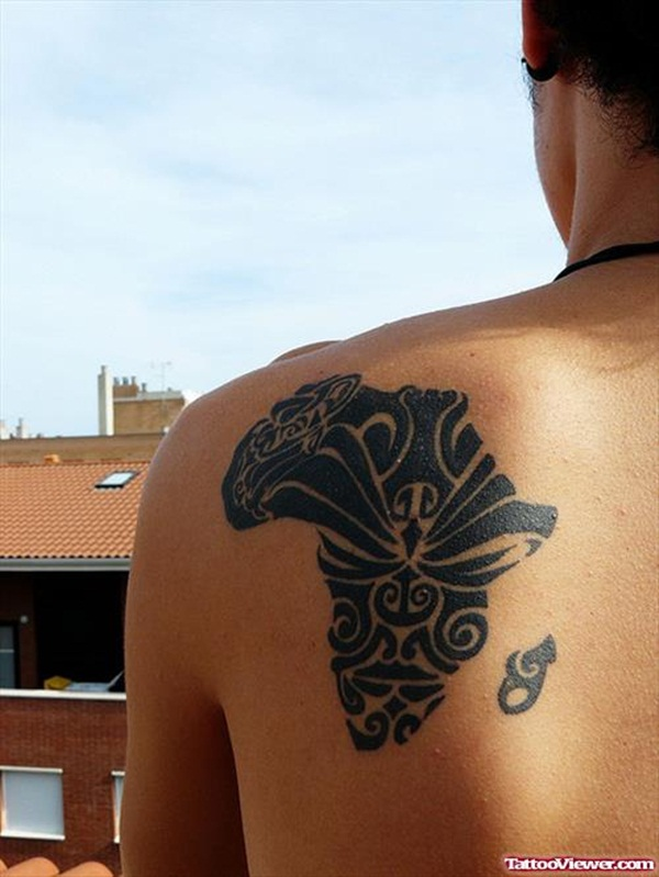 Smart Map Tattoo Design And Ideas 6