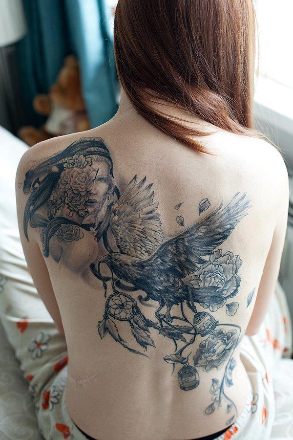 Stunning Black And Grey Tattoos 19