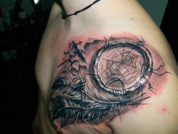Stunning Black And Grey Tattoos 21