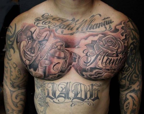 Stunning Black And Grey Tattoos 37