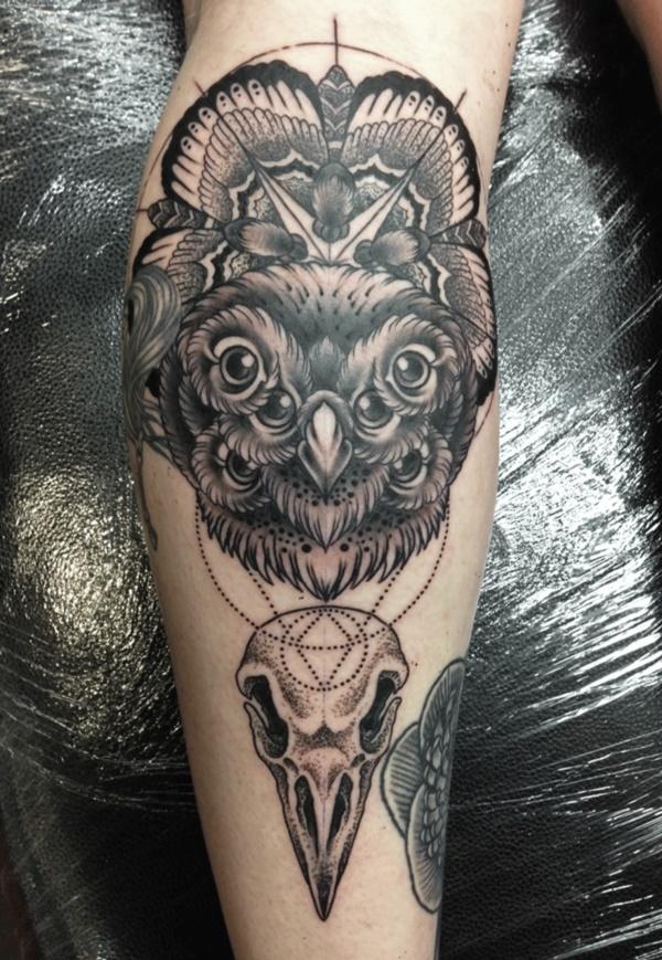 Stunning Black And Grey Tattoos 45