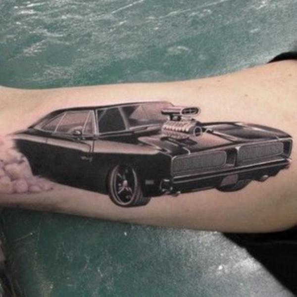 Stunning Black And Grey Tattoos 46
