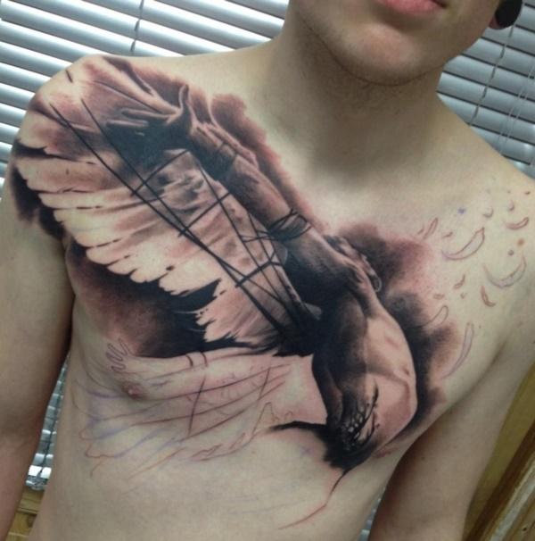 Stunning Black And Grey Tattoos 48