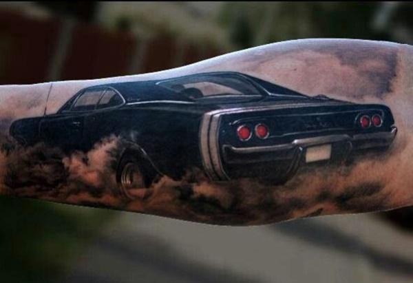 Stunning Black And Grey Tattoos 9