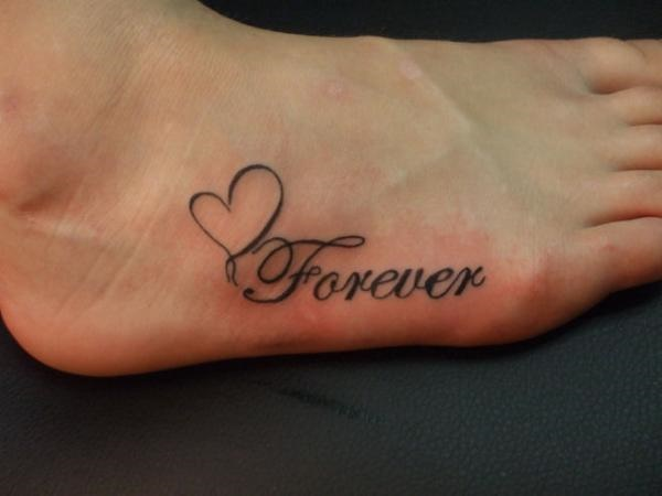 foot tattoo designs for girls 24