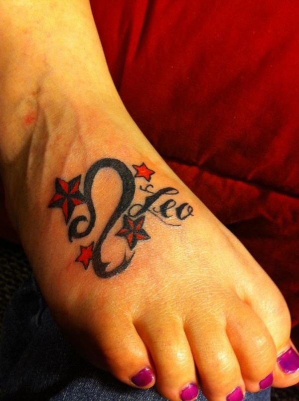 foot tattoo designs for girls 25
