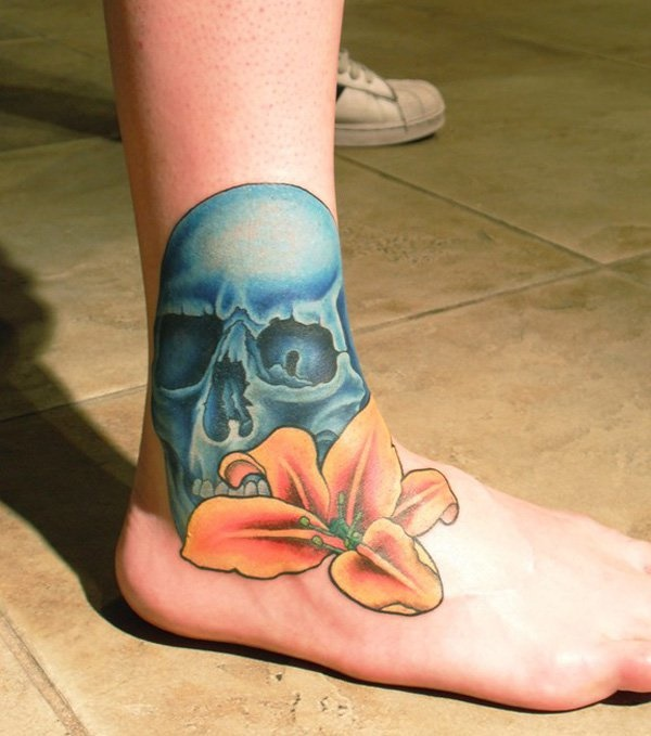 foot tattoo designs for girls 52