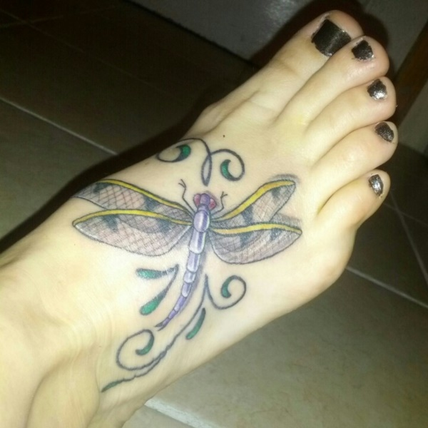 foot tattoo designs for girls 58