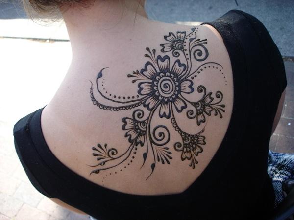 Floral Back Pieces