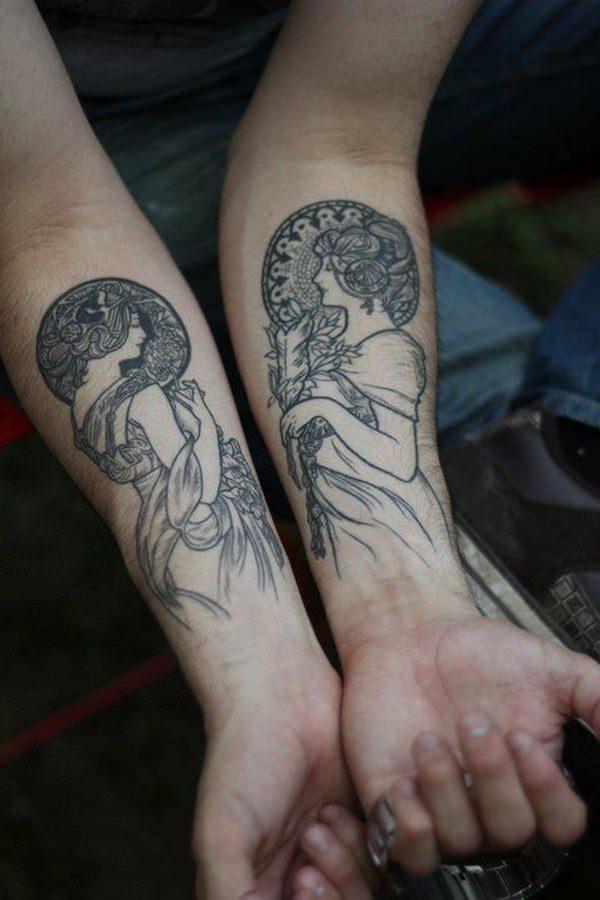 Forearm Tattoos for Men Women 31