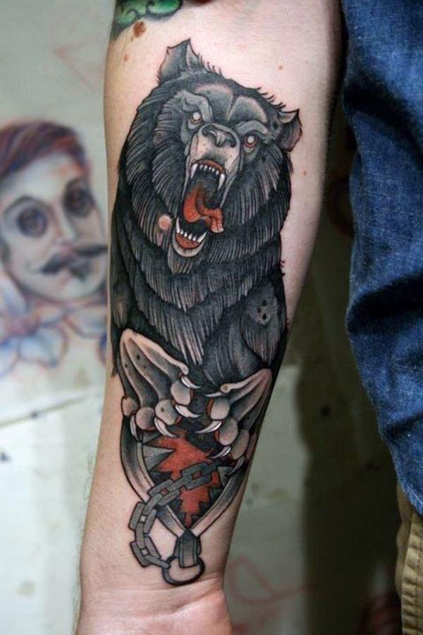 Forearm Tattoos for Men Women 32