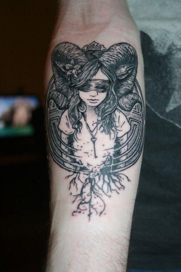 Forearm Tattoos for Men Women 35