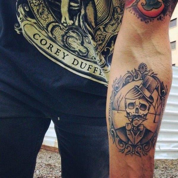 Forearm Tattoos for Men Women 38