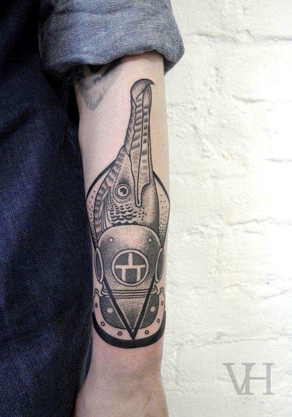 Forearm Tattoos for Men Women 44
