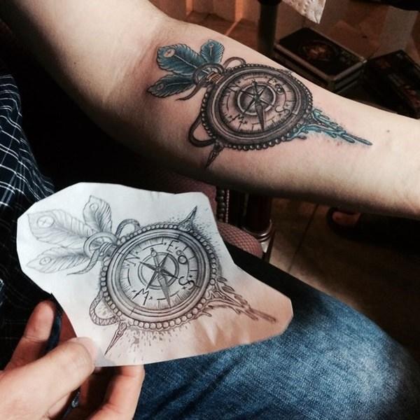 Forearm Tattoos for Men Women 47
