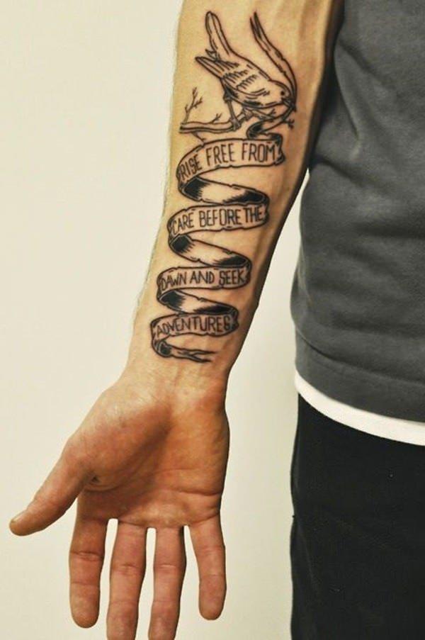 Forearm Tattoos for Men Women 53