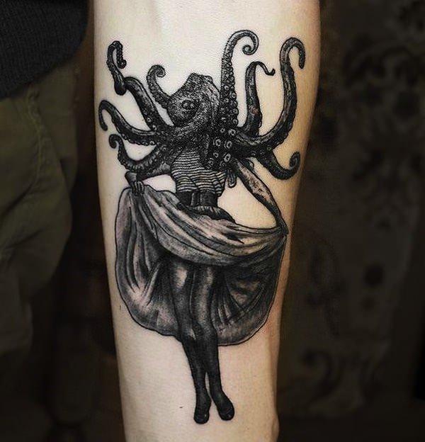 Forearm Tattoos for Men Women 56
