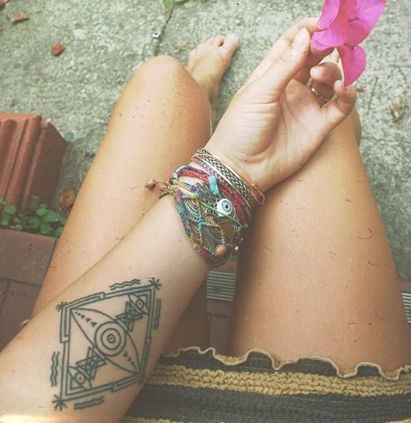 Forearm Tattoos for Men Women 63
