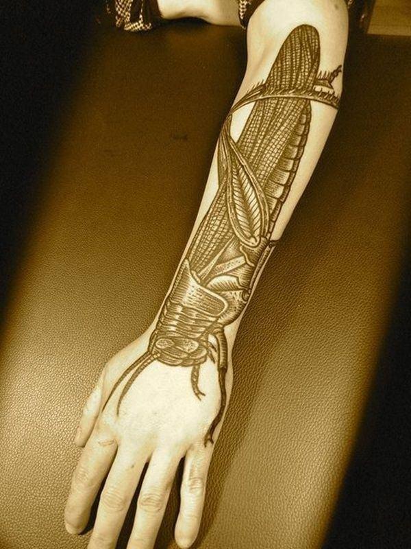 Forearm Tattoos for Men Women 66