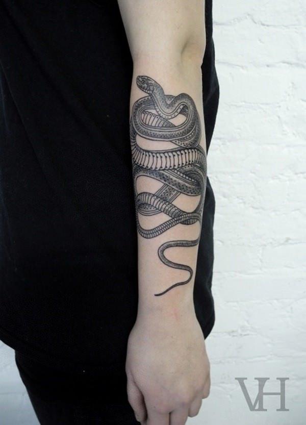 Forearm Tattoos for Men Women 69
