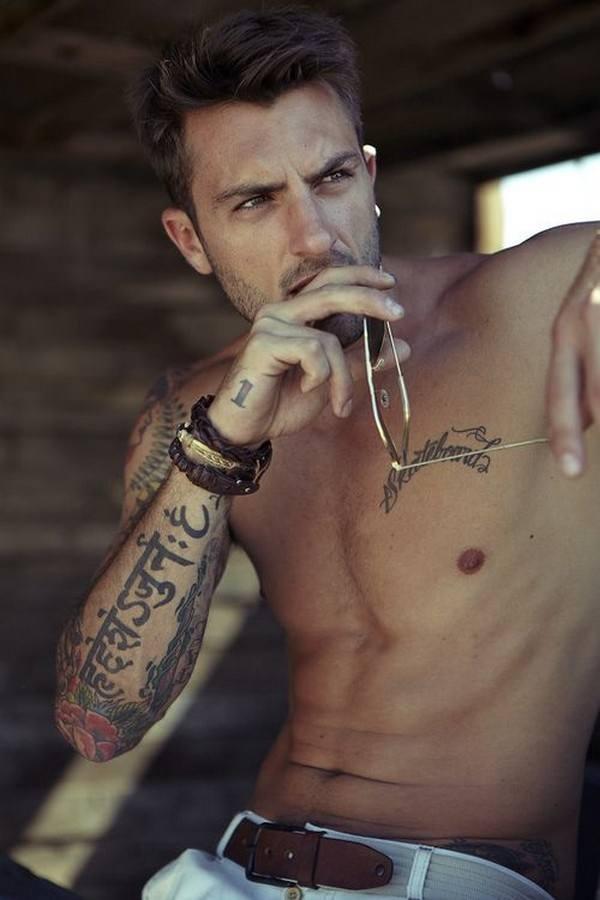 Forearm Tattoos for Men Women 71