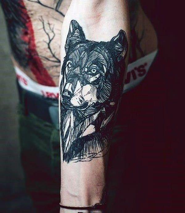 Forearm Tattoos for Men Women 72