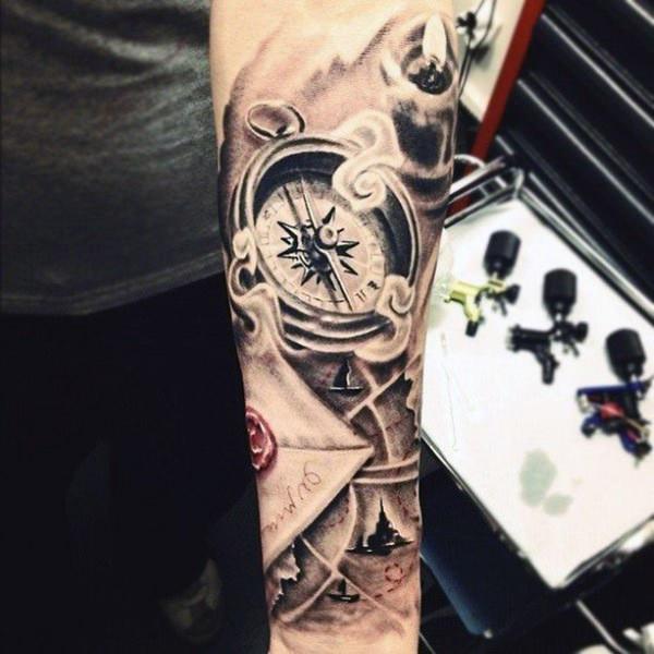 Forearm Tattoos for Men Women 75