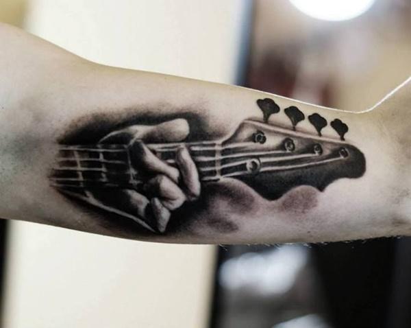 Guitar Tattoo Designs and Ideas 9